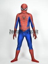 купить  3D Printed Raimi Spider-man Costume Halloween Party Cosplay Spiderman Suit по цене 2156.49 рублей