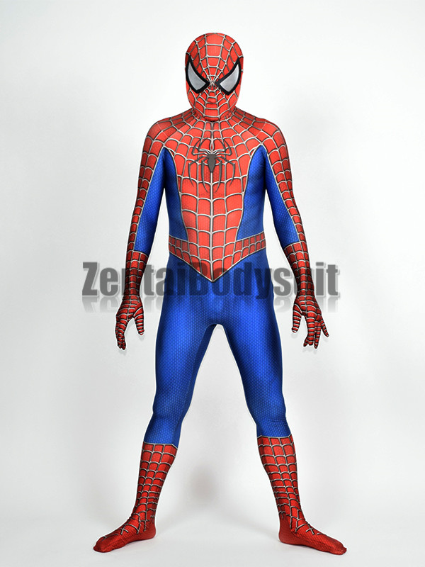 3D Printed Raimi Spider man Costume Halloween Party Cosplay Spiderman Suit