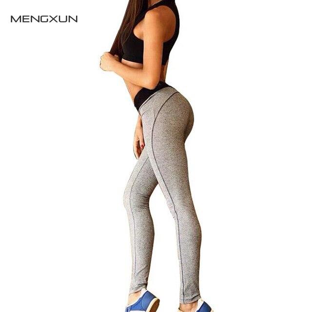 2017 Spring Women's Leggings Yuga Fitness Clothing Women Gray Bodycon Workout Pants Elastic Legging legins