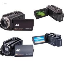 On sale HDV-534K Digital Night Vision Camera 48MP Handy Video Camcorder 4K HD DVR HDMI  Touch Screen Night Vision Camcorders DEYIOU