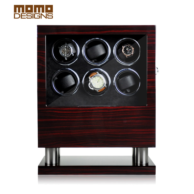 Smart automatic Watch winder USB+DC power supply 6-12-16 watches storage organizer wathces case Wristwatch boxes watch winder lt wooden automatic rotation 2 0 watch winder storage case display box white