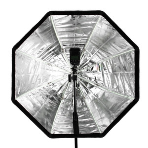 Image 5 - Godox ポータブル 120 センチメートル/47.2in オクタゴンソフトボックス傘ボックスブロリーリフレクターためスタジオストロボスピードライトフラッシュ