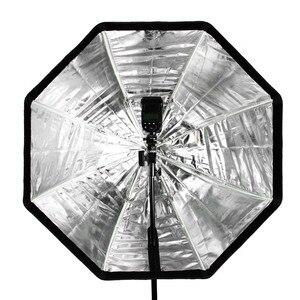 Image 5 - Godox Portable 120cm / 47.2in Octagon Softbox Umbrella Brolly Reflector for Studio Strobe Speedlight Flash