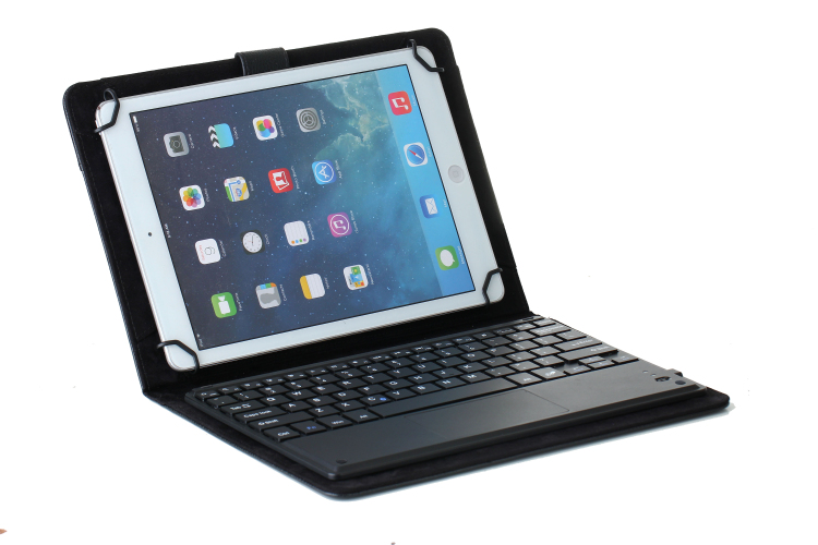 Fashion Touchpad Bluetooth keyboard case cover for 10.1 inch lenovo yoga book tablet pc for lenovo yoga book keyboard case