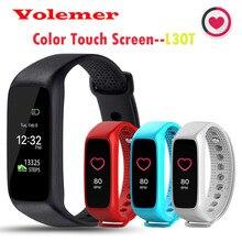 Новое поступление l30t tft-lcd экран bluetooth умный браслет динамический монитор сердечного ритма smartband для android ios смартфон pk mi band2