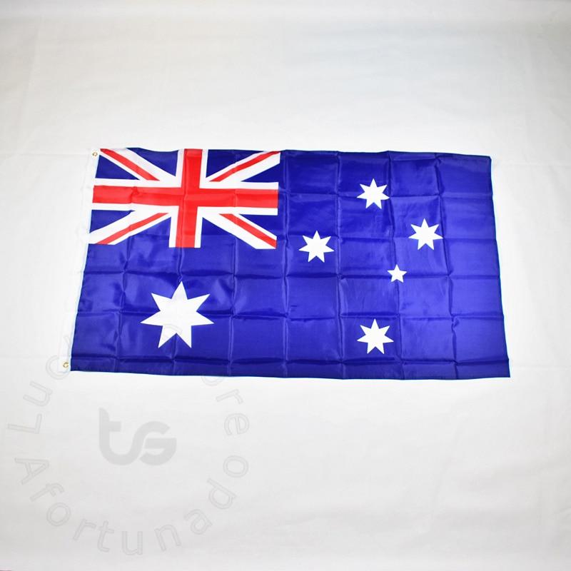 Australia 90 * 150cm flag Banner Hanging Národní vlajka pro setkávání, Parade, party.Hanging, dekorace