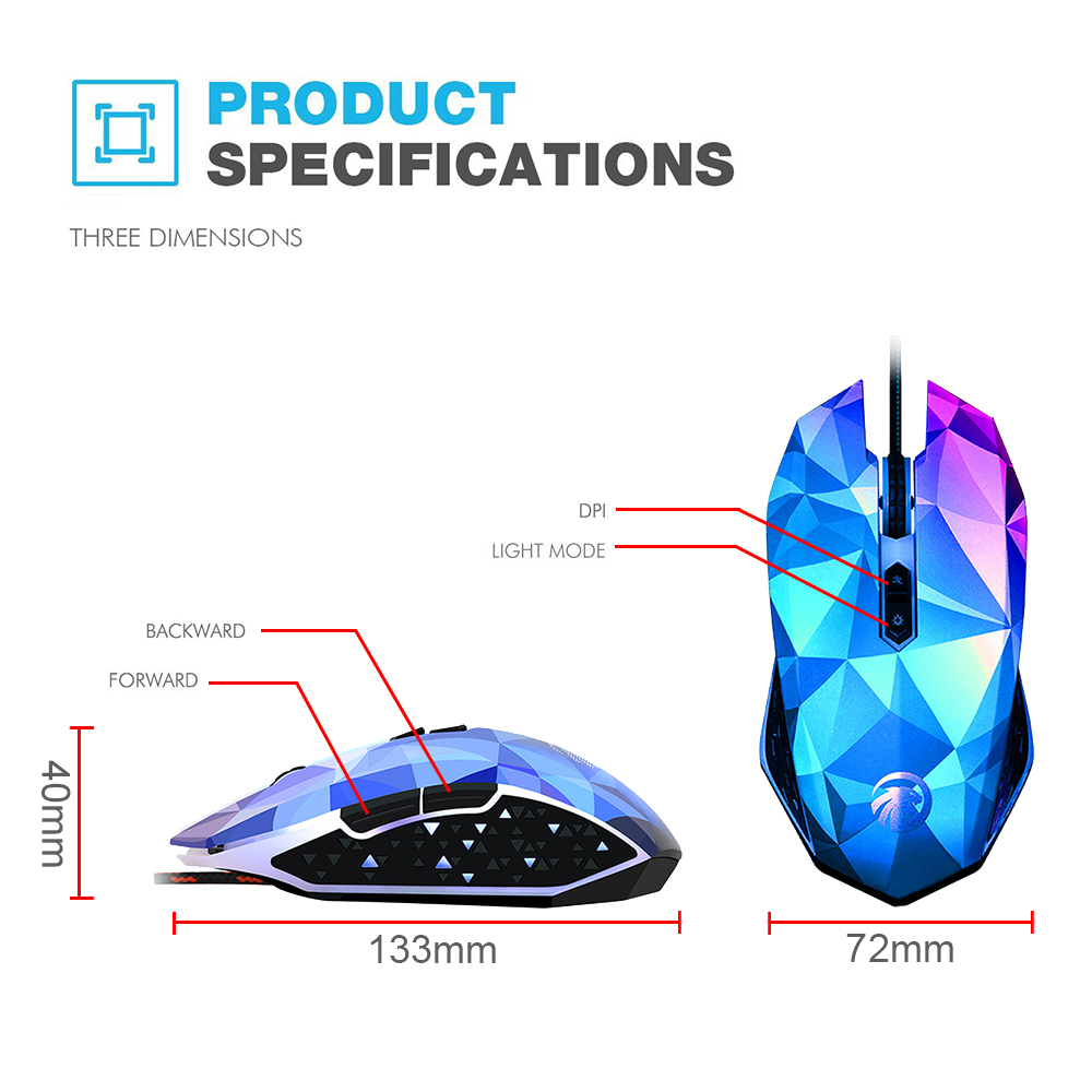 Fmouse X8 2400dpi 7 Buttons Dazzle Colour Diamond Edition Gaming Optical Mouse Diagram Electronic Get Free Image About Wiring Wired Computer Gamer For Mac Pc Notebook In Mice From