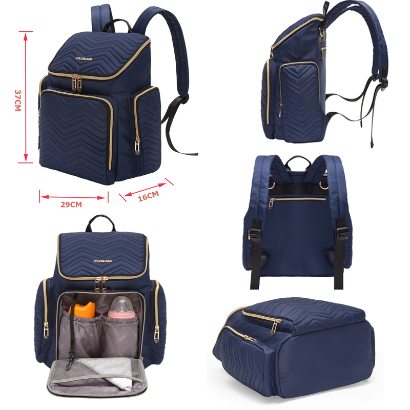 Diaper Bag Large Capacity Nappy Bag Maternity Travel Mochila Mummy Backpack Nursing Shoulder Bag Baby Care Handbag Mom Fashion