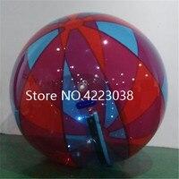 Быстрая доставка 2 м раздувной Гуляя водные катящийся шар воды шар Zorb Надувные людской Пластик мяч