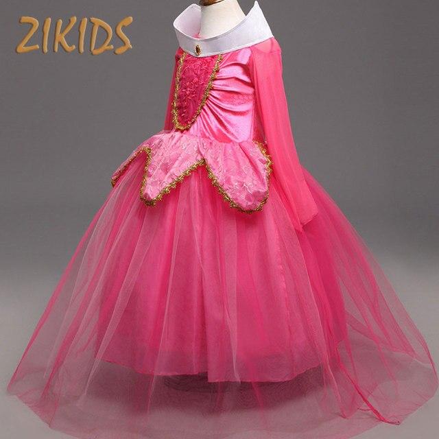 84a1ab90cdc87f 3-10Y Meisjes Cosplay Kostuum Kerstmis Halloween Cadeaus voor Meisjes Jurken  Prinses Jurk voor Maskerade