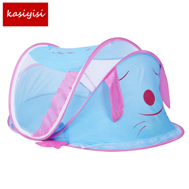 Baby Bed Nets Folding Mosquito Nets 0-2 Years Old Cartoon Lovely Childrens Nets Children s Bedding TRQ1227 ...