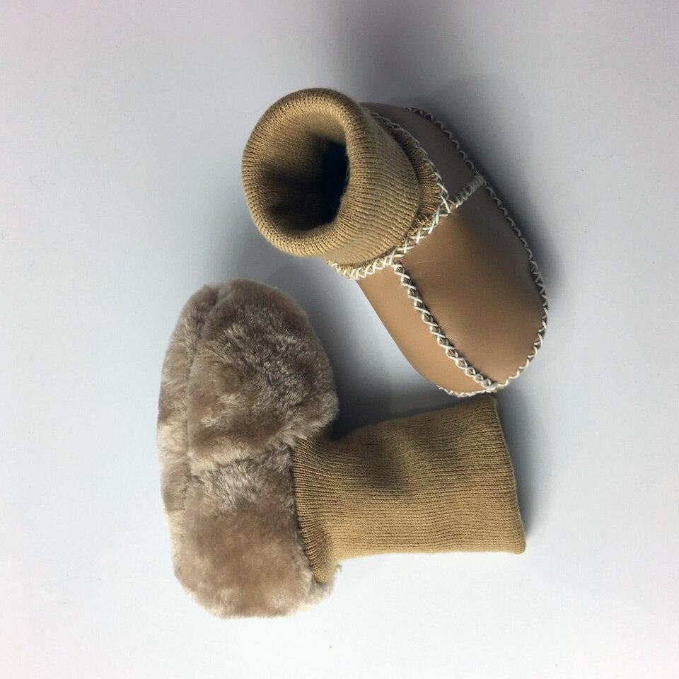 Winter Warm Schoenen PU Suède Pasgeboren Babyschoenen Bebe Fringe - Baby schoentjes - Foto 3