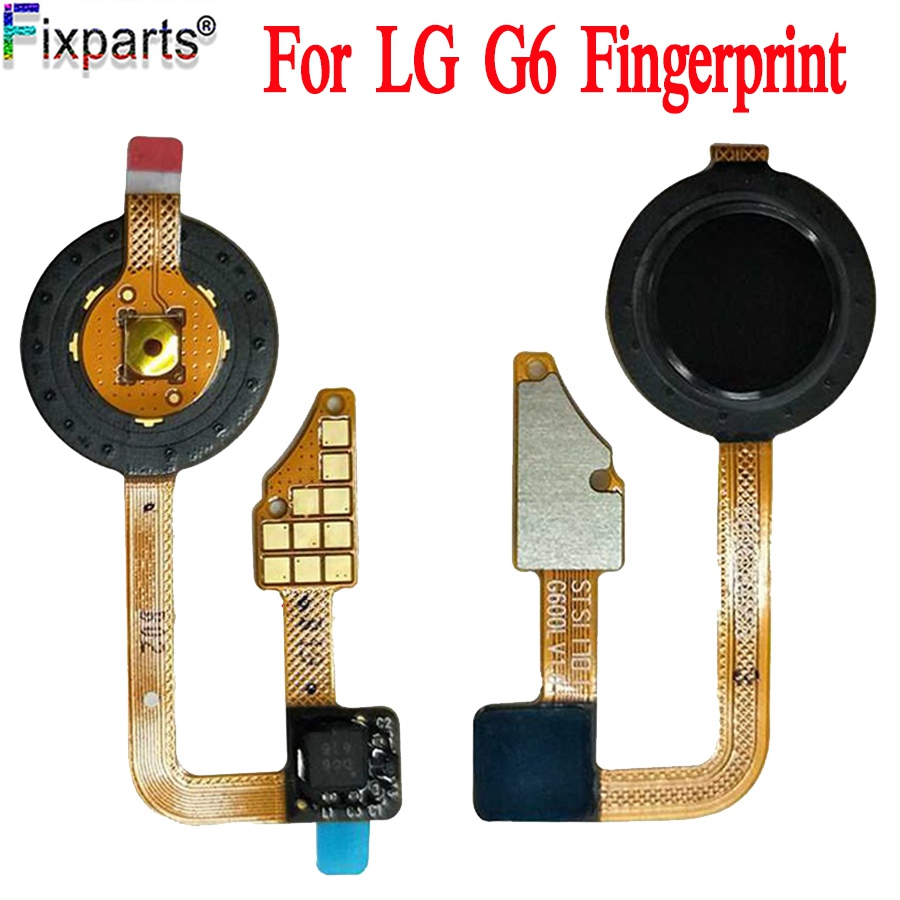 For LG G6 Home Button Fingerprint Flex Cable Recognition Sensor For LG G6 Power Button Flex Cable Replacement Repair Parts