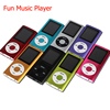 Brand New 1.8 inch LCD Screen MP3 MP4 Music Player Metal Housing Support 16GB SD Card FM Radio Games Video Player Pretty Gift