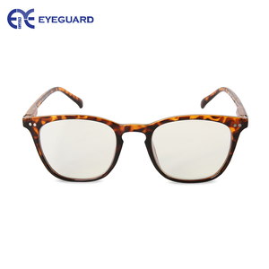 Image 4 - EYEGUARD Anti Reduce Blue Rays Light Unisex Spring Hinges Computer Reading Glasses Readers UV Protection Anti Glare Eyewear Demi