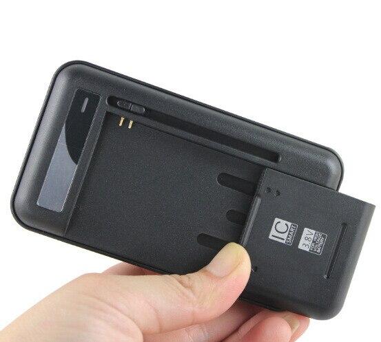 ユニバーサルバッテリー充電器 USB 出力ポート 3.8 V 高電圧三星銀河 S2 S3 S4 j5 、注 2 3
