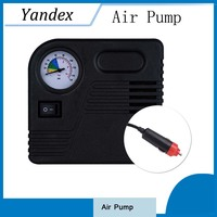 High Quality Car Air Pump Tire Inflator 12V 150PSI Auto Electric Air Compressor With Car Charger