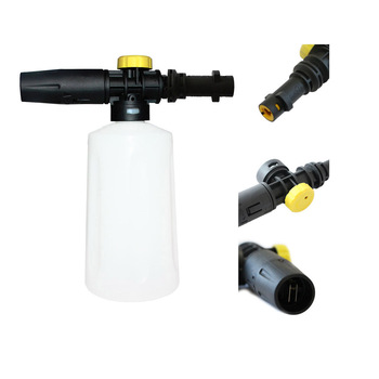 Snow Foam Lance For Karcher High Pressure Foam Gun Cannon All Plastic Portable Foamer Nozzle Car Compatible Washer Soap Sprayer volodymyr car washer snow foam lance pressure washer cannon gun black for car cleaning detailing detail clean 2020 new style