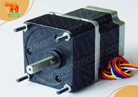 Great 3D Printer CNC Nema23 Wantai Stepper Geared Motor with 15:1 Ratio 57BYGH627AG15 www.wantmotor.com