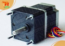 Great 3D Printer CNC Nema23 Wantai Stepper Geared Motor with 15:1 Ratio 57BYGH627AG15 www.wantmotor.com