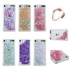 HYYGEDeal phone cases Glitter Girls Liquid Quicksand Shockproof TPU Soft case cover for Apple ipod touch 5 touch 6