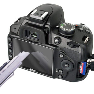 Image 2 - 強化ガラスプロテクターガードカバーニコンD5100 D5200デジタル一眼レフカメラの液晶表示画面保護フィルム保護