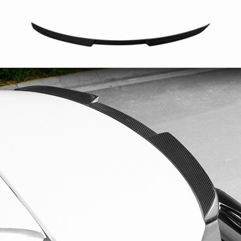 Carbon fiber CAR REAR WING TRUNK LIP SPOILER FOR LEXUS NX NX200 NX200t NX300h 2015 2016