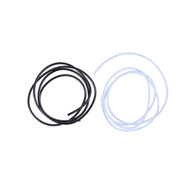 1M Shielded Signal Wire Headphone Cable Cord Black White Dia 3mm DIY ...
