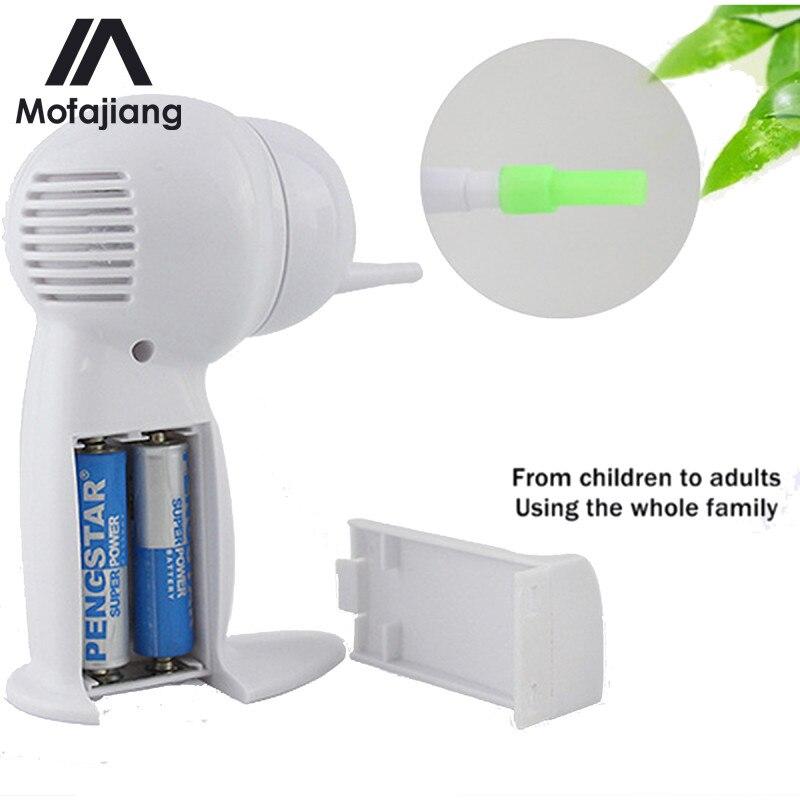 Электрический беспроводной пылесос для чистки ушей, инструменты для удаления воска, безопасное устройство для чистки ушей, уход за ушами дл...