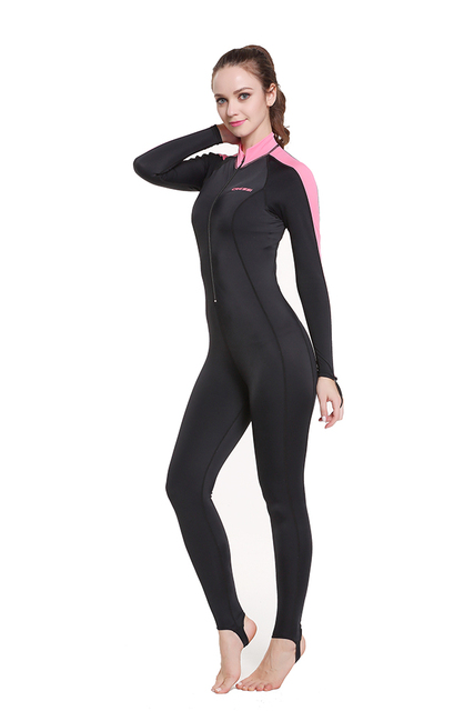 Cressi Lycra All-In-One Rash Skin Suit Rash Guard Suit Wetsuits Snorkeling Suit Anti-Jellyfish Anti Scratch for Adults Men W