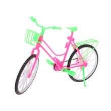 Handmade Doll Plastic bicycle For Doll Baby Toys Top Quality Kid's play house toys Doll accessories Best Gift High Quality
