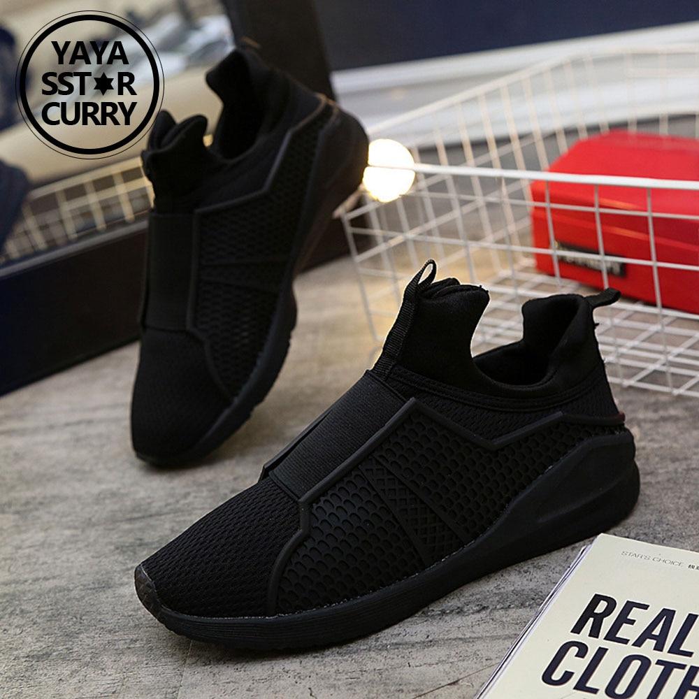 YAYA/SSTAR Карри Кроссовки для Для мужчин новый 2018 летние дышащие Обувь спортивная для ...