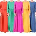 2016 Apliques Nova Jilbabs E Abayas Caftan Vestuário Árabe Abaya A turquia No Oriente médio Muçulmano Mulheres Se Vestem de Moda Grande tamanho