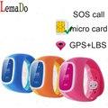 Lemado D14 дети Smart Watch SOS Вызова Дважды цветов nano SIM сигнализация оповещения монитор сон хороший Ребенок Подарок Наручные Часы PK Q50 Q90