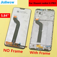 5.84'' For Xiaomi Redmi 6 Pro Redmi 6Pro Full LCD DIsplay +Touch Screen Digitizer Assembly For Xiaomi Mi A2 Lite LCD Touch