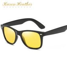 d04cf67ec27 KarenHeather Men s polarized sunglasses square driving glasses classic and  stylish mirror for women night-vision lens