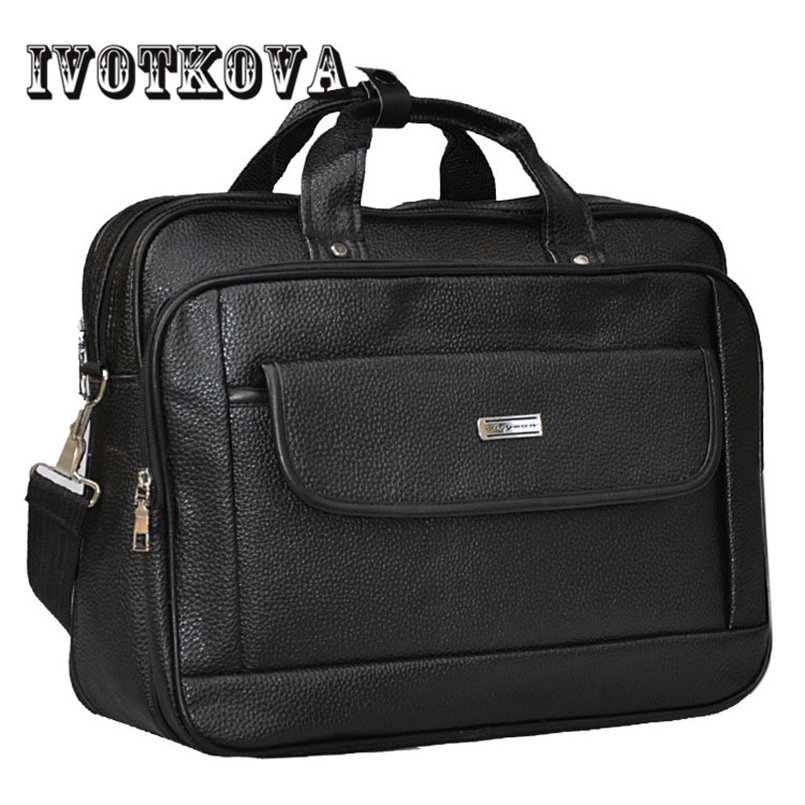 IVOTKOVA New Men's Handbags Fashion Business Shoulder Bag Men Messenger Bag High Quality Leather Briefcase Men Bag Free Delivery 2016 new leather men bag classical messenger bag men fashion casual business shoulder handbags for men bag hot free shipping