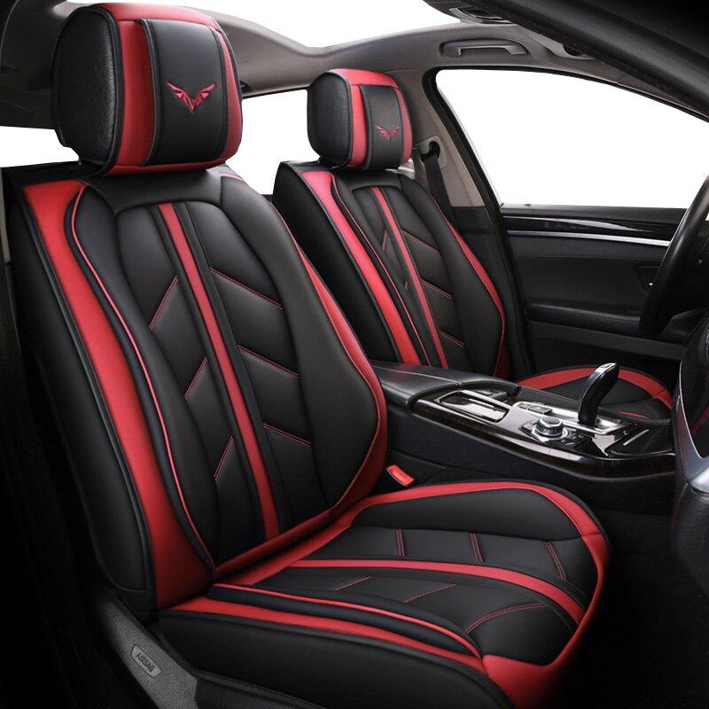 Housse de siège de voiture en cuir spécial de haute qualité pour Toyota corolla chr 86 auris Fortuner Alphard prius avensis camry land cruiser