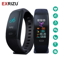 EXRIZU UW200 GPS Sport Band Smart Wristband Fitness Bracelet for Running Hiking Climbing Skiing Distance Step Speed Heart Rate