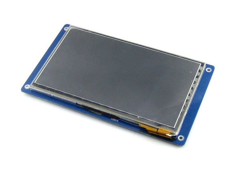 Module 7inch Capacitive Touch Lcd Display 800*480 Multicolor Graphic Lcd, Tft Ttl Screen Lcm