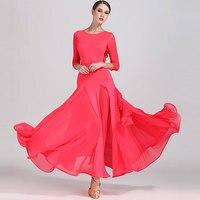 2019 Fashion Sexy Lady Ballroom Dance Competition Dresses Women Standard Ballroom Waltz Dress Waltz Tango Costume Dresses