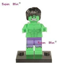 20pcs superhero marvel Hulk building blocks action bricks model educational diy toys