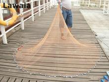 Lawaia 2.4m American Sign Throw Net Fishing Network,cast Net Thrower Fly Best Cast Net