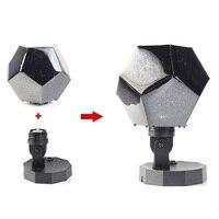 Novelty Romantic LED Star Starry Sky Projector Nightlight Lamp Cosmos Astro Celestial Light DIY Kids Children