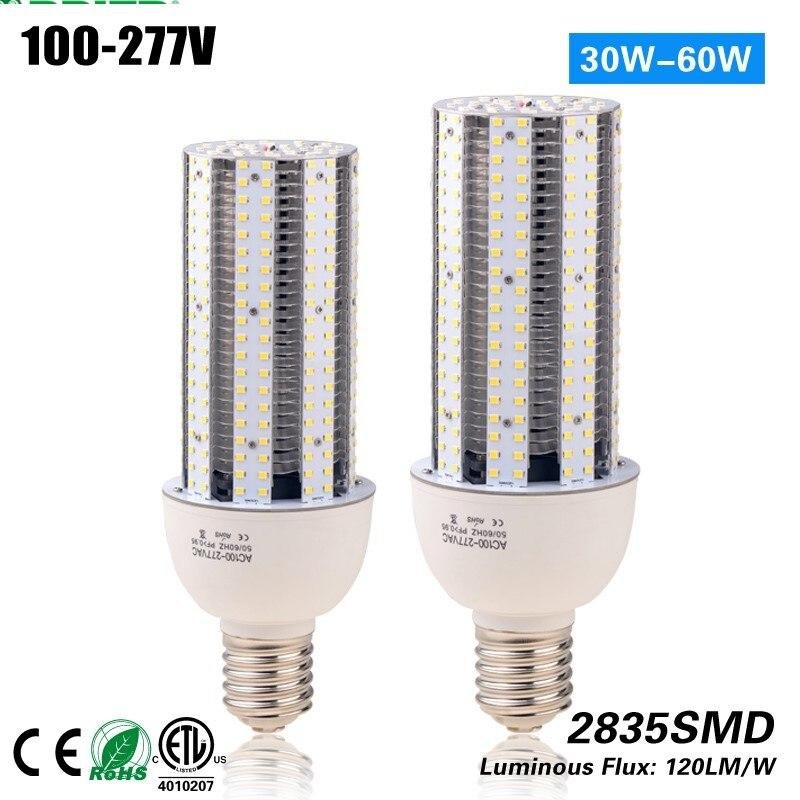 Mogul Base aluminum fins heat sink 6000lm 60w E40 led lamp corn for outdoor light CE ROHS 360 waterproof led corn light bulb industrial lighting 60w 80w 100w 120w mogul base e39 led outdoor light