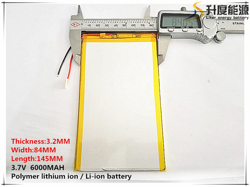 3 7v 6000mAH Polymer Lithium Ion Battery Li Ion Battery For Tablet Pc 9 7 Inch