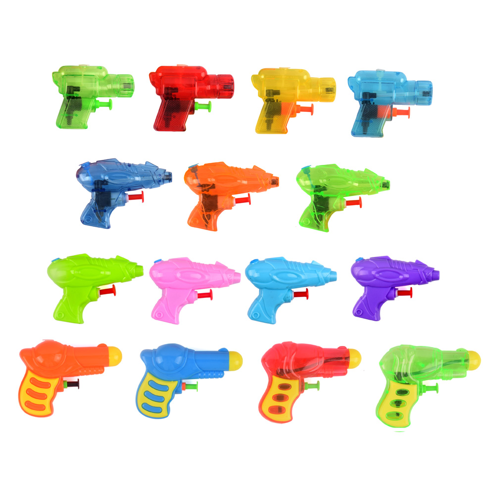 Mini Water Gun Baby Kids Party Garden Bath Toys Little Transparant Squirt Gun