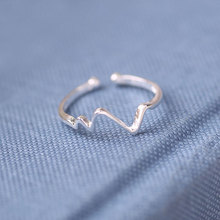 Silver 925 jewelry Lightning opening adjustable rings Mens accessories sterling silver treasure Costume  natural