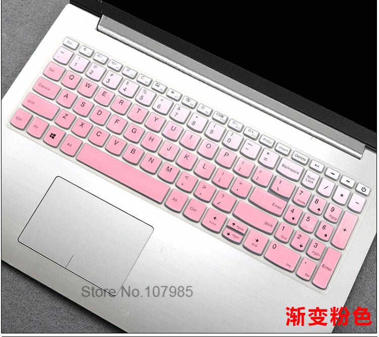 15.6 Inch Laptop Notebook Keyboard Cover Skin Protector Compatible for Lenovo Ideapad 320 330 520 320s 720S 15IKBR//ARR//AST Chao 5000 7000,Color 1