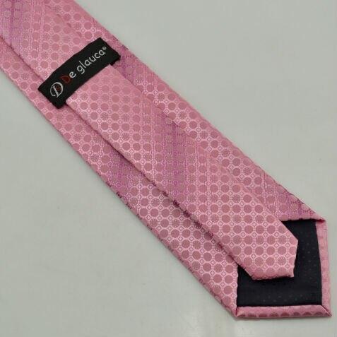 Pink Silk Tie Polka Dot 2M9++